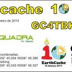 Earthcache - 10 anos_capa