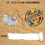 Leiria CoinFest 2015 Crachá de Identificação_Frente