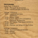 Leiria CoinFest 2015 Crachá de Identificação_Verso