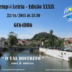 Meetup@Leiria - Edição XXXIX - Novembro